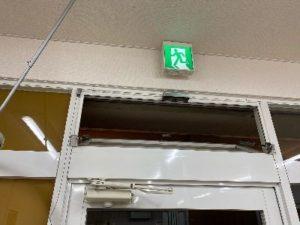 窓の常時開放による換気
