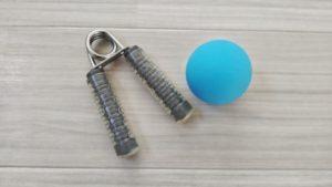 手指のリハビリで使用するハンドグリップ・握力ボール
